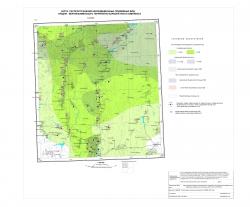N-37-XXX. Карта распространения некондиционных подземных вод средне-верхнефаменского терригенно-карбонатного комплекса