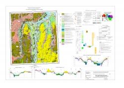 N-37-XXX (Тамбов). Карта четвертичных образований и полезных ископаемых