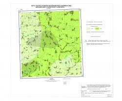 N-37-XXXVI. Карта распространения некондиционных подземных вод нижнемелового терригенного комплекса