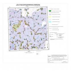N-37-XXXVI. Карта распространения некондиционных подземных вод первых от поверхности гидрогеологических подразделений
