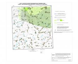 N-37-XXXVI. Карта распространения некондиционных подземных вод Средне-Верхнефаменского терригенно-карбонатного комплекса