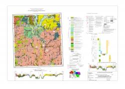 N-37-XXXVI (Рассказово). Карта четвертичных образований и полезных ископаемых