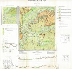 N-38-I. Геологическая карта СССР. Карта четвертичных отложений. Серия Средневолжская