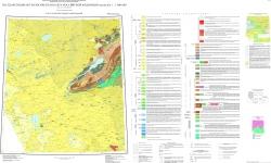 N-44 (Новосибирск). Государственная геологическая карта Российской Федерации. Третье поколение. Алтае-Саянская серия. Карта дочетвертичных образований