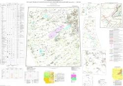N-44 (Новосибирск). Государственная геологическая карта Российской Федерации. Третье поколение. Алтае-Саянская серия. Карта полезных ископаемых
