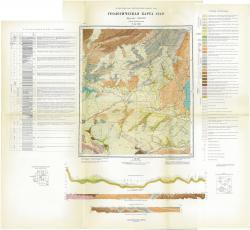 N-45-VIII. Геологическая карта СССР. Серия Кузбасская