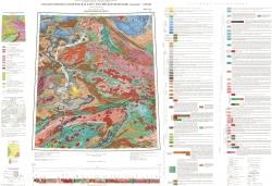 N-46 (Абакан). Государственная геологическая карта Российской Федерации. Третье поколение. Геологическая карта. Алтае-Саянская серия