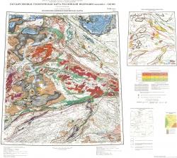 N-46 (Абакан). Государственная геологическая карта Российской Федерации. Третье поколение. Прогнозно-минерагеническая карта. Алтае-Саянская серия