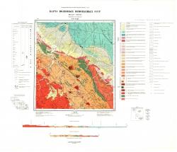 N-47-XXIII. Карта полезных ископаемых СССР. Серия Восточно-Саянская