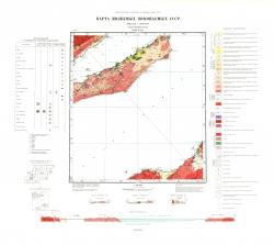 N-48-XXX. Карта полезных ископаемых СССР. Серия Прибайкальская