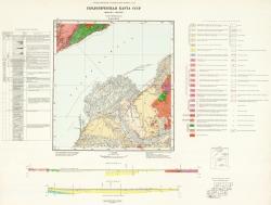 N-48-XXXV. Геологическая карта СССР. Серия Прибайкальская