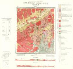 N-49-VI. Карта полезных ископаемых СССР. Серия Прибайкальская.