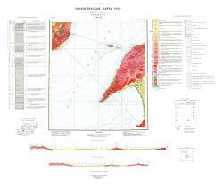 N-49-XIX. Геологическая карта СССР. Прибайкальская серия