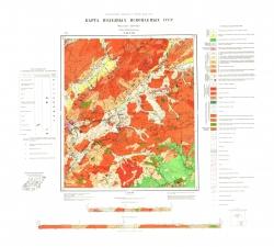 N-49-XVII. Карта полезных ископаемых СССР. Серия Прибайкальская