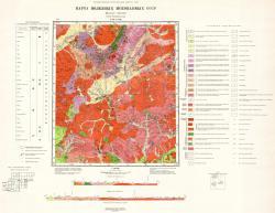 N-49-XVIII. Карта полезных ископаемых СССР. Серия Прибайкальская.