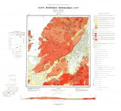 N-49-XX. Карта полезных ископаемых СССР. Серия Прибайкальская