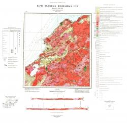 N-49-XXV. Карта полезных ископаемых СССР. Серия Прибайкальская
