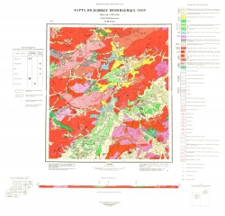 N-49-XXX. Карта полезных ископаемых СССР. Серия Прибайкальская