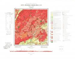 N-49-XXXI. Карта полезных ископаемых СССР. Серия Прибайкальская