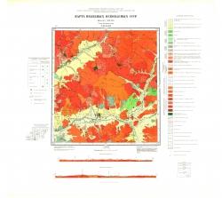 N-49-XXXII. Карта полезных ископаемых СССР. Серия Прибайкальская