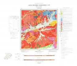 N-49-XXXIII. Карта полезных ископаемых СССР. Серия Прибайкальская