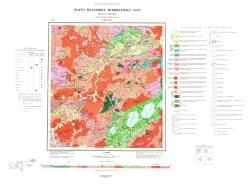 N-49-XXXV. Карта полезных ископаемых СССР. Серия Западно-Забайкальская