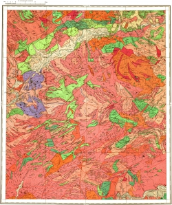 N-50-IV. Геологическая карта СССР. Серия Олёкмо-Витимская