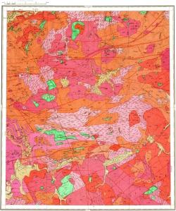 N-50-V. Геологическая карта СССР. Серия Олёкмо-Витимская