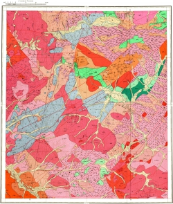 N-50-X. Геологическая карта СССР. Серия Олёкмо-Витимская