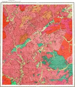 N-50-XII. Геологическая карта СССР. Серия Олёкмо-Витимская