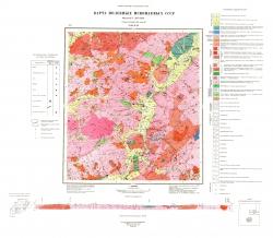 N-50-XXI. Карта полезных ископаемых СССР. Серия Олёкмо-Витимская