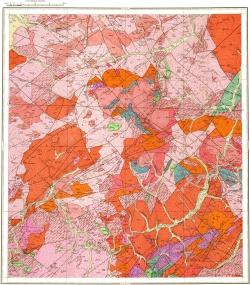 N-50-XXII (р. Сырыгичи). Геологическая карта СССР. Серия Олёкмо-Витимская