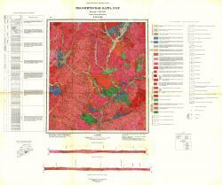N-50-XXIII. Геологическая карта СССР. Серия Олёкмо-Витимская