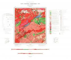 N-50-XXIV. Карта полезных ископаемых СССР. Серия Олёкмо-Витимская