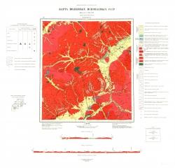 N-50-XXVI. Карта полезных ископаемых СССР. Серия Олёкмо-Витимская