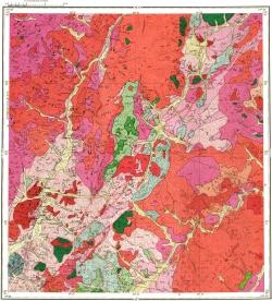 N-50-XXXVI. Геологическая карта СССР. Серия Восточно-Забайкальская