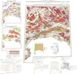 N-51 (Сковородино), (M-51). Карта закономерностей размещения и прогноза полезных ископаемых. Лист 1. Дальневосточная серия. Третье поколение.