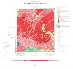 N-51-VII. Карта полезных ископаемых СССР. Серия Олёкмо-Витимская
