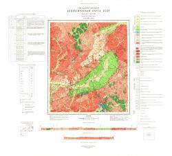 N-51-VIII. Геологическая карта СССР. Серия Олёкмо-Витимская.