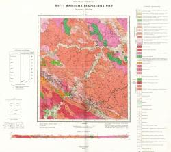 N-51-XI. Карта полезных ископаемых СССР. Серия Становая