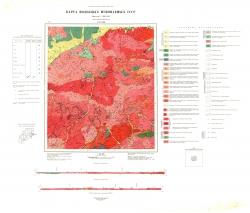 N-51-XIII. Карта полезных ископаемых СССР. Серия Олёкмо-Витимская