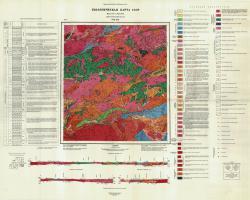 N-51-XIX. Геологическая карта СССР. Серия Олёкмо-Витимская
