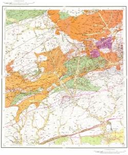 N-51-XV (Уруша). Государственная геологическая карта Российской Федерации. Карта полезных ископаемых. Издание второе. Становая серия