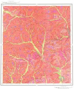 N-51-XV (Уруша). Государственная геологическая карта Российской Федерации. Карта четвертичных отложений. Издание второе. Становая серия