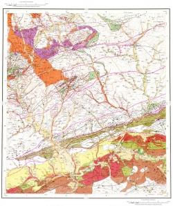N-51-XVI. Геологическая карта Российской Федерации. Карта полезных ископаемых. Становая серия