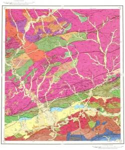 N-51-XVI. Геологическая карта Российской Федерации. Становая серия