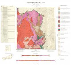 N-51-XXXI. Геологическая карта СССР. Серия Восточно-Забайкальская