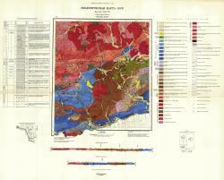 N-51-XX,XXVI. Геологическая карта СССР. Серия Амуро-Зейская