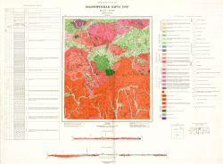 N-52-I. Геологическая карта СССР. Серия Становая