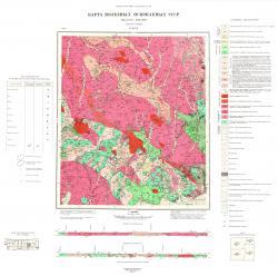 N-52-IX. Карта полезных ископаемых СССР. Серия Становая.